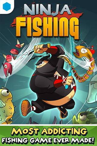 Ninja Fishing for GREE - screenshot