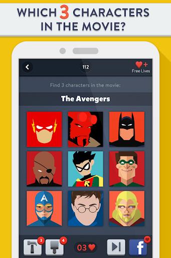 Movie Trio Quiz - Picture Game