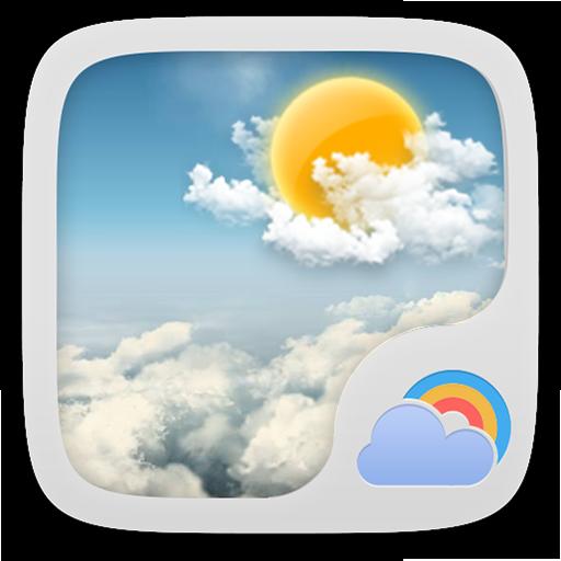 默认动态背景1.0 GO天气EX LOGO-APP點子