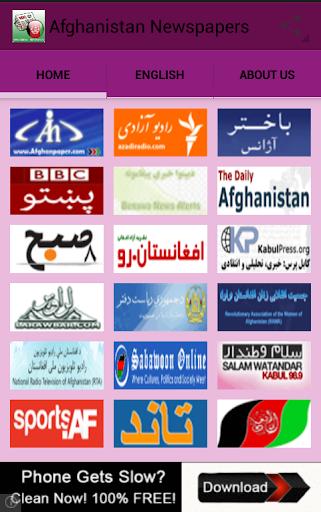 Afghanistan Newspapers