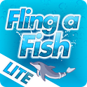 Dolphin Tale Fling a Fish LITE icon