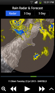 MetService Rural Weather App- screenshot thumbnail