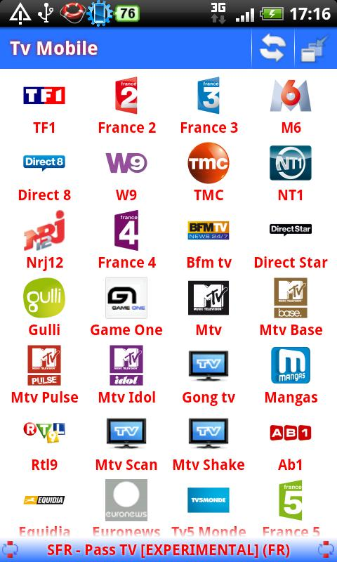 Tv Mobile - screenshot
