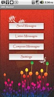 Screenshot of SMS Master