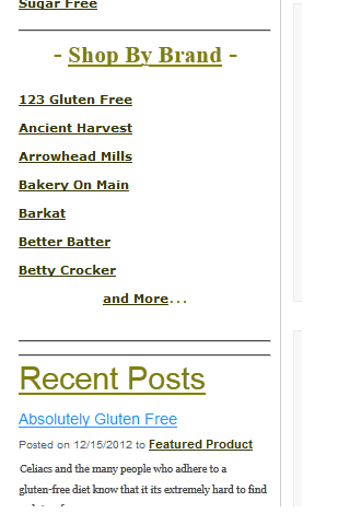 Allergy-Free Kosher Groceries - screenshot