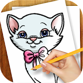 Learn to Draw Cat Kitten Kitty