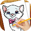 Free Download Learn to Draw Cat Kitten Kitty APK for Samsung