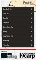 Screenshot of Carp Rig Guide