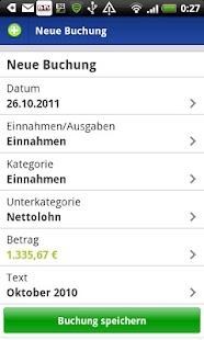 VSB Haushaltsplaner- screenshot thumbnail