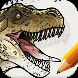 How to Draw Dinosaurs 教育 App LOGO-硬是要APP