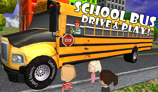 School Bus Play Kids Toddlers