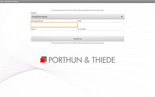 【免費運動App】Opti - Ranglistenrechner-APP點子