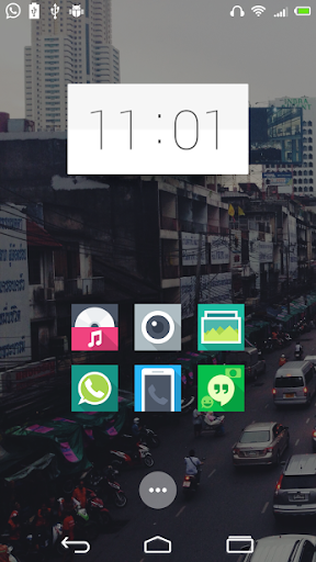 Sharp icons Solo Launcher