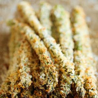 Baked Asparagus Fries.