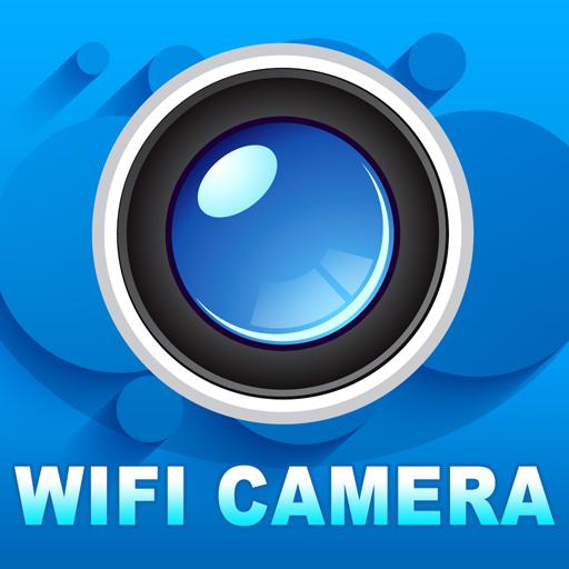 蓝色妖姬WIFI摄像头