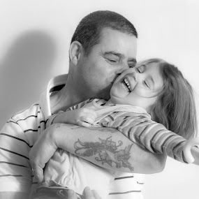 Me and Chloe by Steve Trigger - Black & White Portraits & People