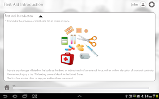 Screenshot of First Aid 101 by GoLearningBus