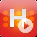 휴넷 H-플레이어 logo