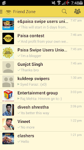 Paisa Swipe- screenshot thumbnail