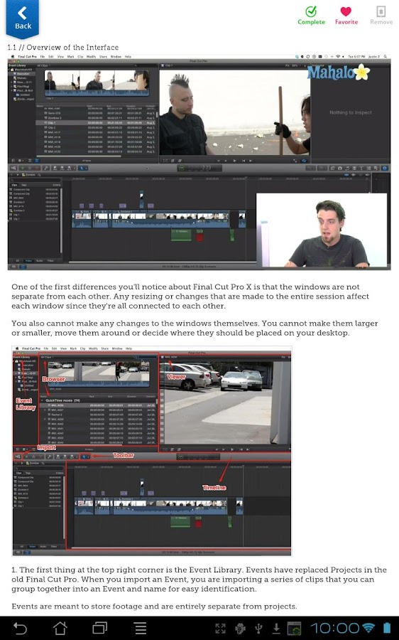 Learn Final Cut Pro X FREE- screenshot