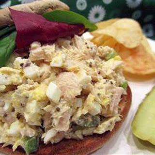 Tuna Egg Sandwich.