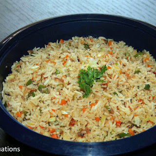 Fried Rice – Indian style.