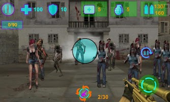 Screenshot of Zombie world Conquest FPS Game