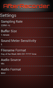 AfterRecorder - Audio Recorder - screenshot thumbnail