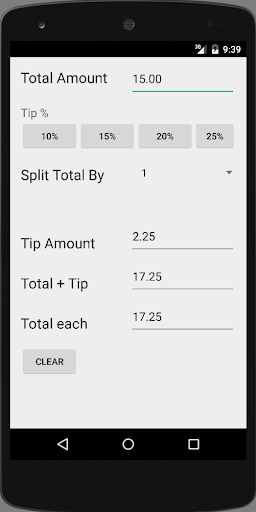 THE Simplest Tip Calculator