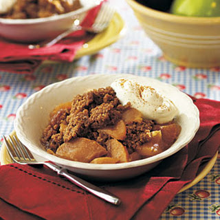 Texas 2-Step Apple Crisp