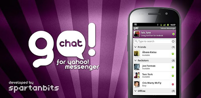 GoChat for Yahoo Messenger Apk 2.1.2