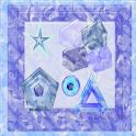 Panda Home Marble Inner Shapes logo