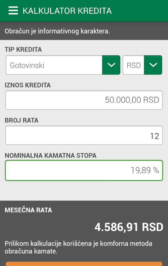 Intesa Mobi 2.0- screenshot