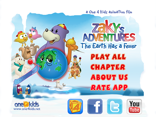 Zaky Adventure-Earth has Fever