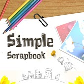 Simple Love Scrapbook Free EN