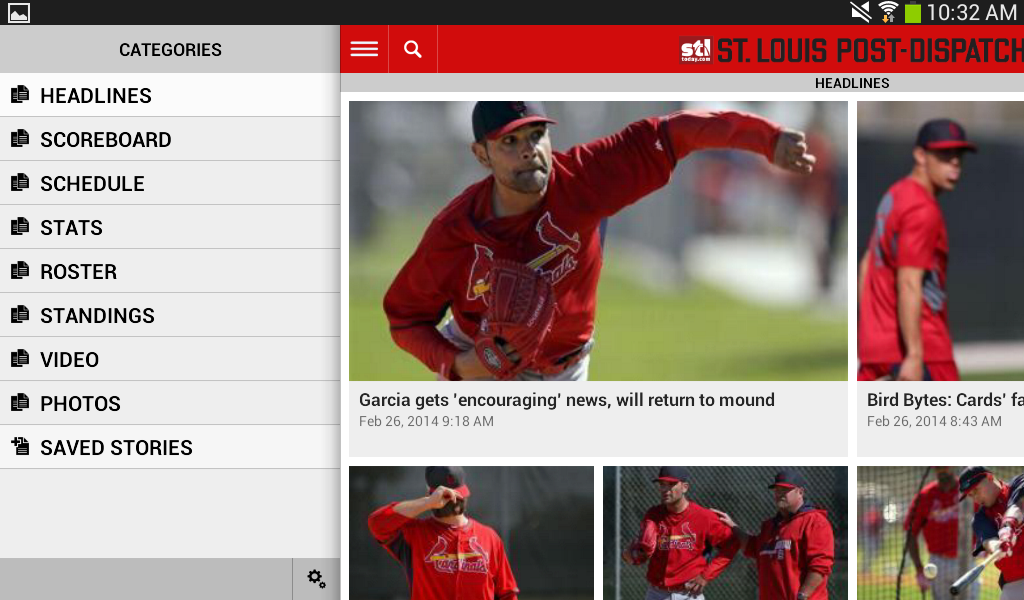 Post-Dispatch Baseball - screenshot