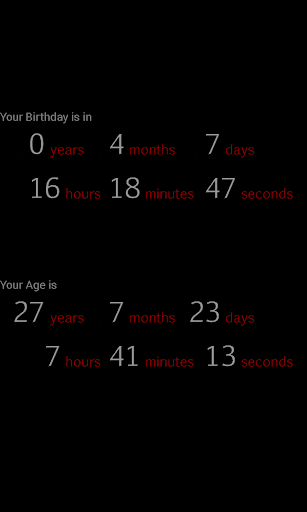 Billionth Second Birthday