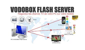 Screenshot of My VODOBOX Flash Server