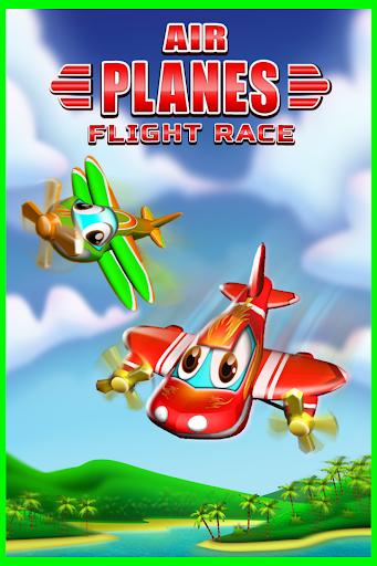 Airplane 3D Race Simulator