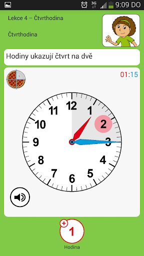 Výuka hodin - hry pro děti