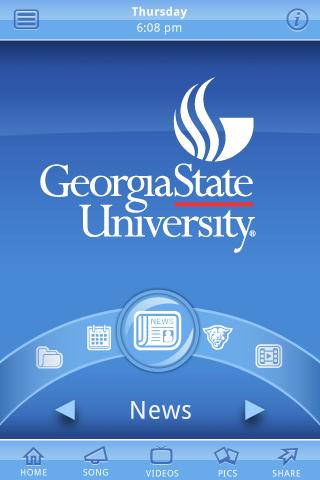 Georgia State University- screenshot