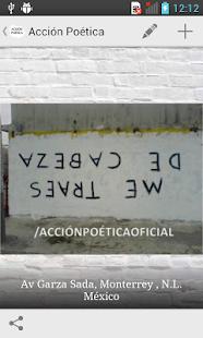 Frases de Acción Poética - screenshot thumbnail