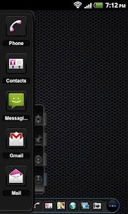 TSF Shell Theme Black On Black - screenshot thumbnail
