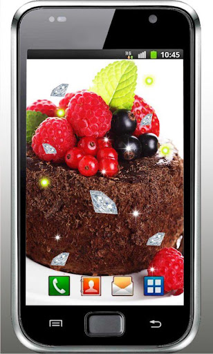 Chocolate Cakes live wallpaper