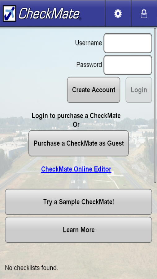 CheckMate Checklists - screenshot
