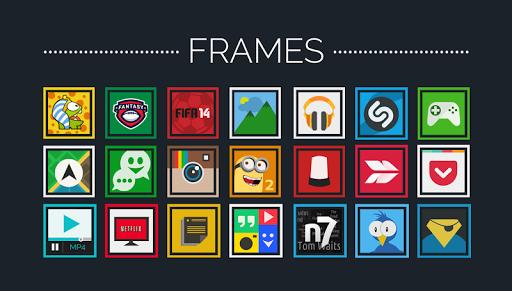Frames- Icon Pack v1.0