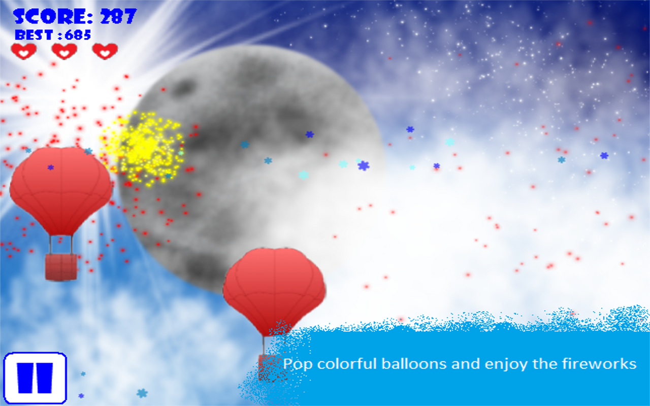 Balloon To The Moon - screenshot