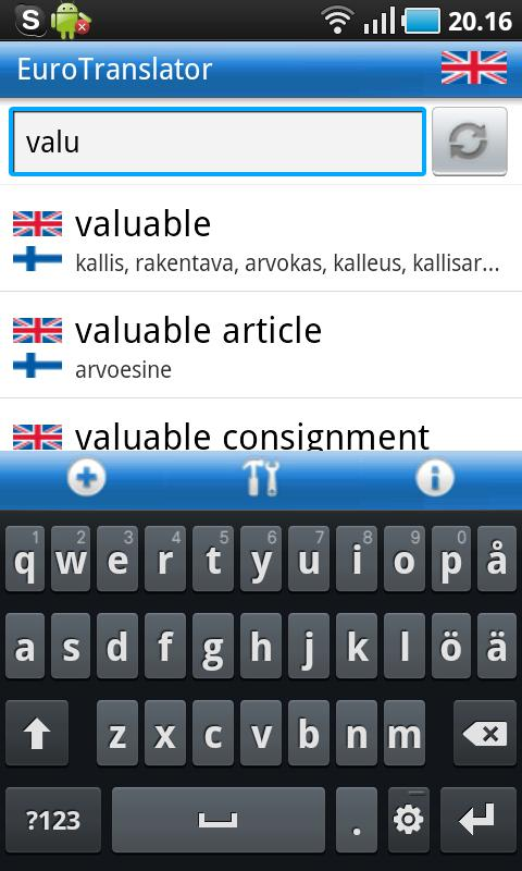 Suomi-Englanti-Suomi Sanakirja - Android Apps on Google Play
