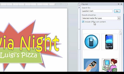 GCF Word 2010 Tutorial- screenshot thumbnail