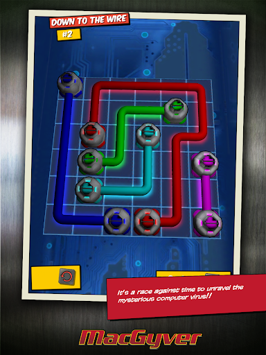 Игра MacGyver Deadly Descent для планшетов на Android